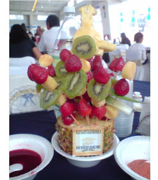 Centros De Mesa Con Frutas Frutas Y Flores Centro De Mesa Para Un - Centros-de-mesa-de-frutas